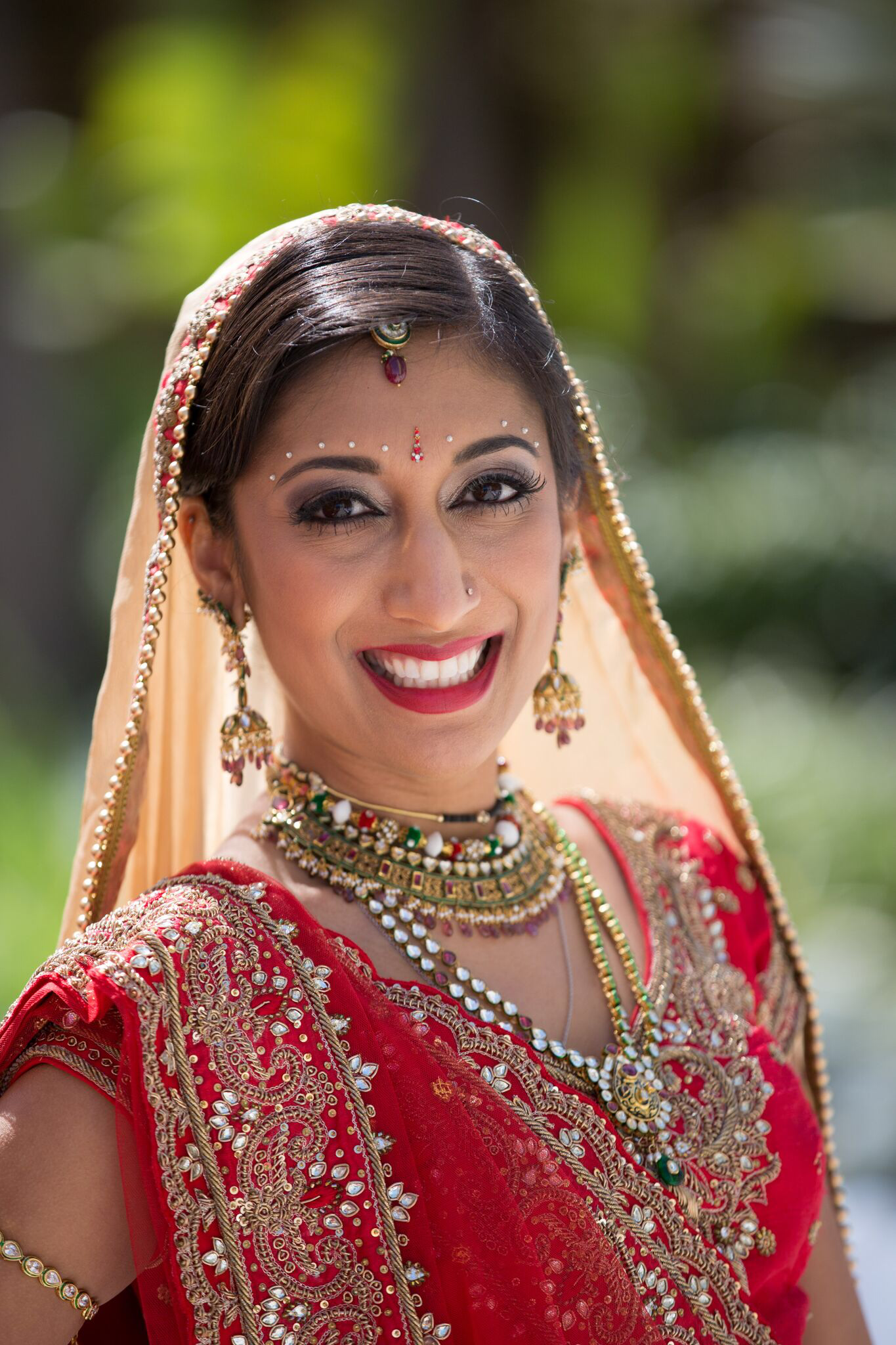 indian beauty swell makeup brides